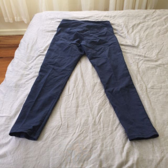 H&M Navy Dress Pants-12