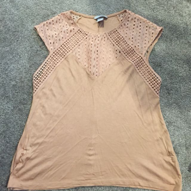 H&M Sleeveless Top (used once)