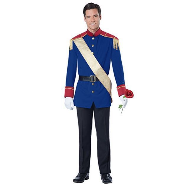 photo photo photo photo  sc 1 st  Carousell & IN STOCK Adult prince costume king costume Prince Charming costume ...