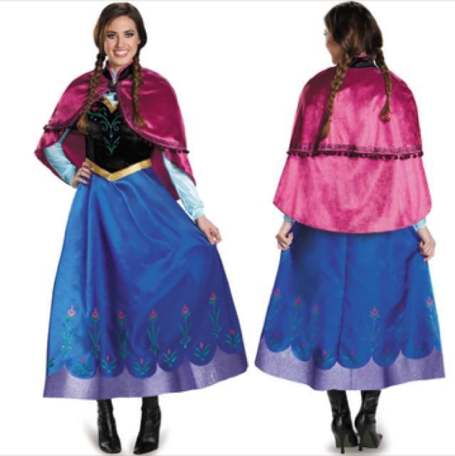 photo photo photo  sc 1 st  Carousell & IN STOCK Anna costume dress frozen dress Disney princess costume ...