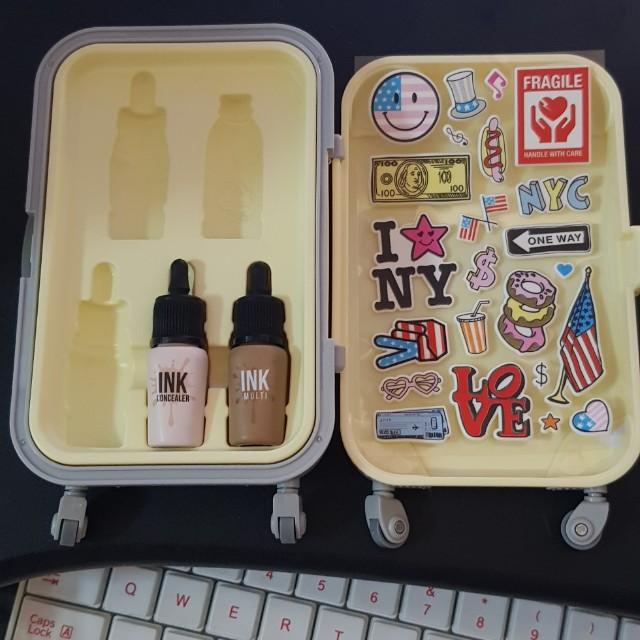 INCOMPLETE* Peripera Makeup Luggage Case