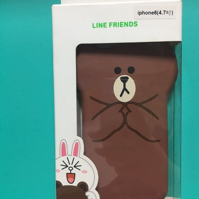 降價出售~iPhone6 or 6s熊大造型手機殼