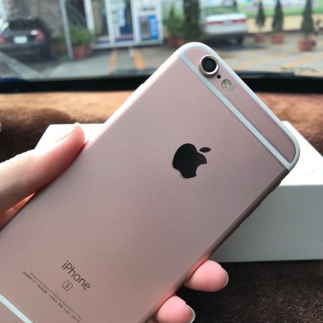 Iphone6s 64GB 玫瑰金