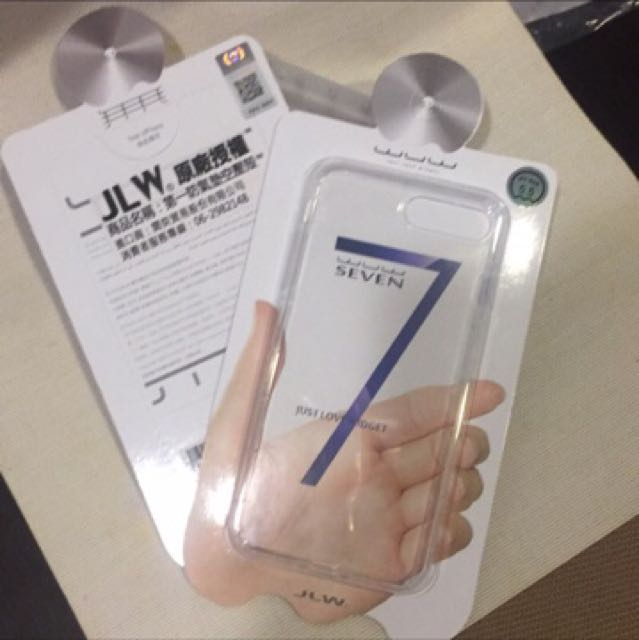 """JLW原廠授權""""防氣墊空壓殻""""-i7+"""