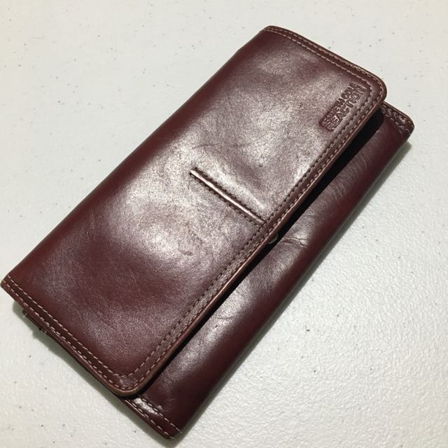 Kenneth Cole Genuine Leather Long Wallet