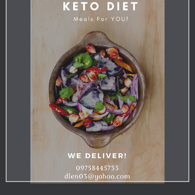 Keto Diet Meals Made to order
