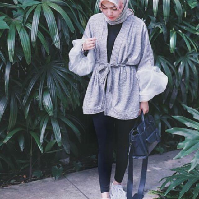 Kimono Privato Kimmi In Grey