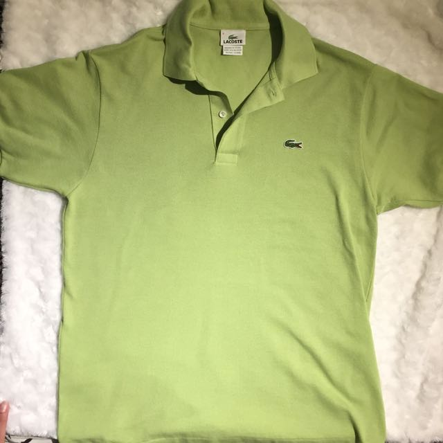 Lacoste Green Polo - Medium