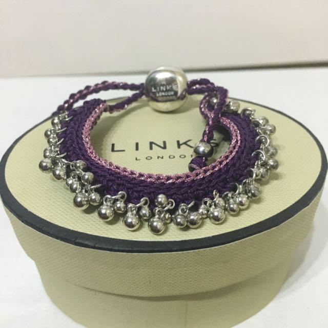 Links of London woven bracelet