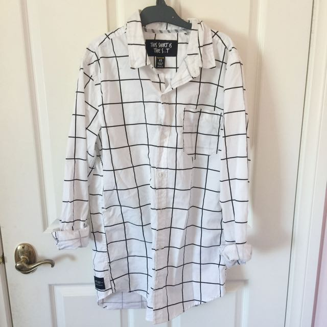 Long Grid Shirt