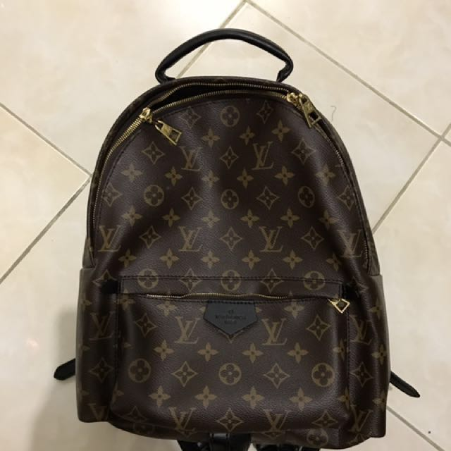 d7f92b34f968 Louis vuitton palm springs backpack top quality replica