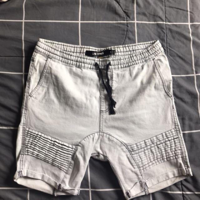 Low down factorie shorts