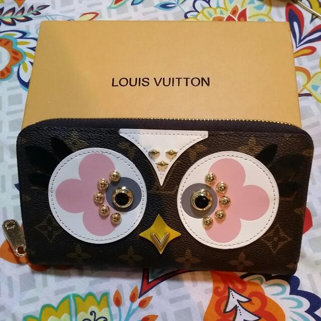 LV Owl Wallet