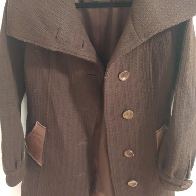 Mackage Brown Vintage Coat