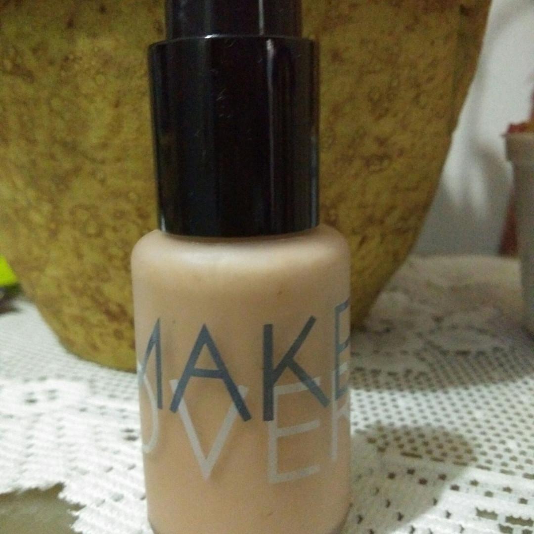 Make Over Ultra Cover Liquid Matt Foundation 05 Velvet Nude Menutupi 03 Silk 33 Ml Home