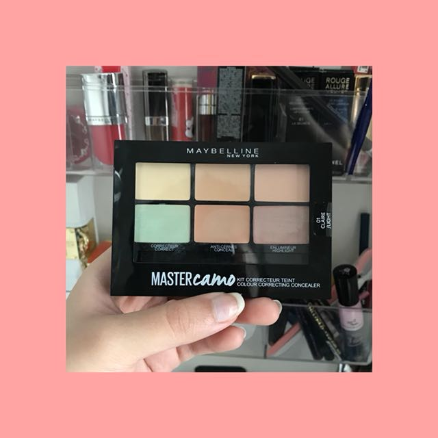 Maybeline MasterCamo Kit Teint Colour Correcting Concealer