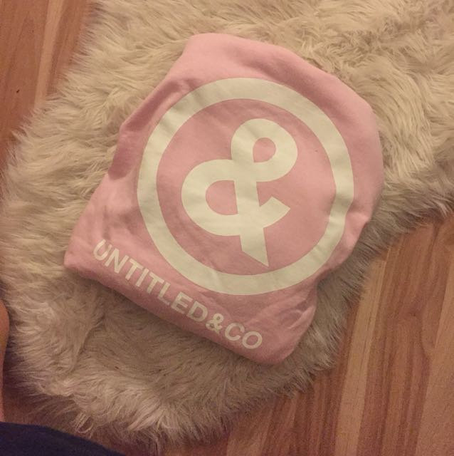 Medium pink untitled an co sweater