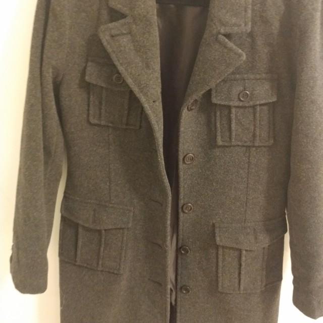 Mendocino Size 8 wool coat
