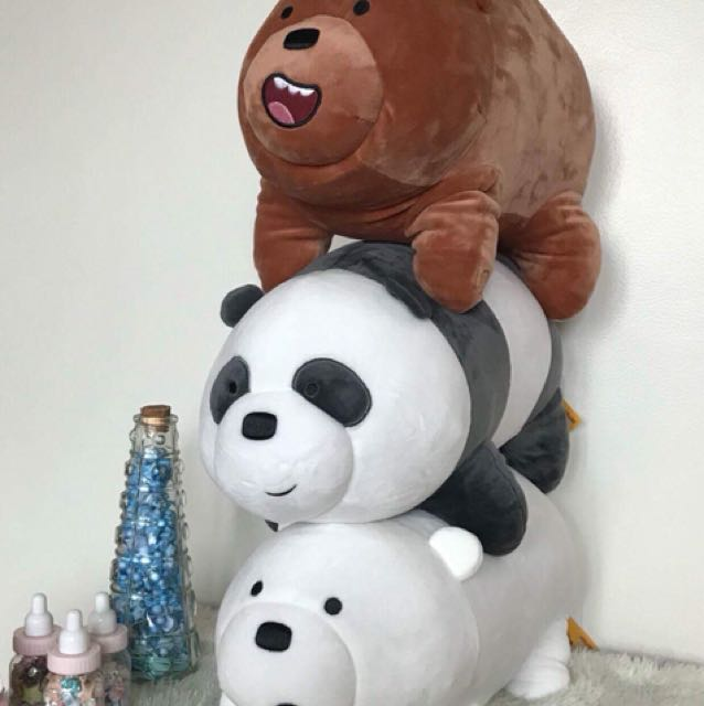 Miniso We Bare Bear Plushies 16 inches