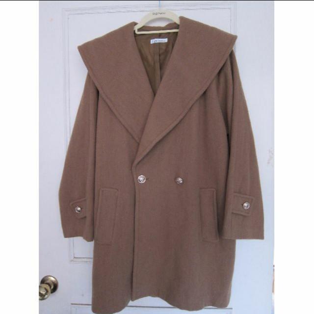含運 Morning deer晨鹿 咖啡色系 古著大衣 古著外套 西裝外套