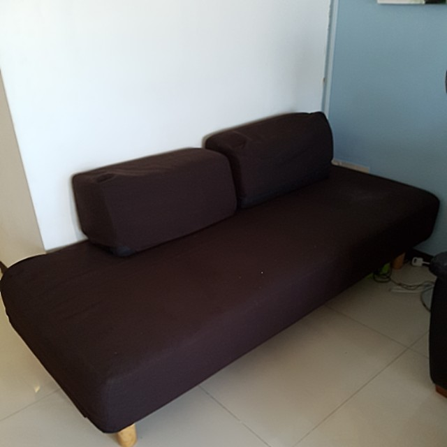 Magnificent Muji Sofa Bed Furniture Sofas On Carousell Beutiful Home Inspiration Ommitmahrainfo