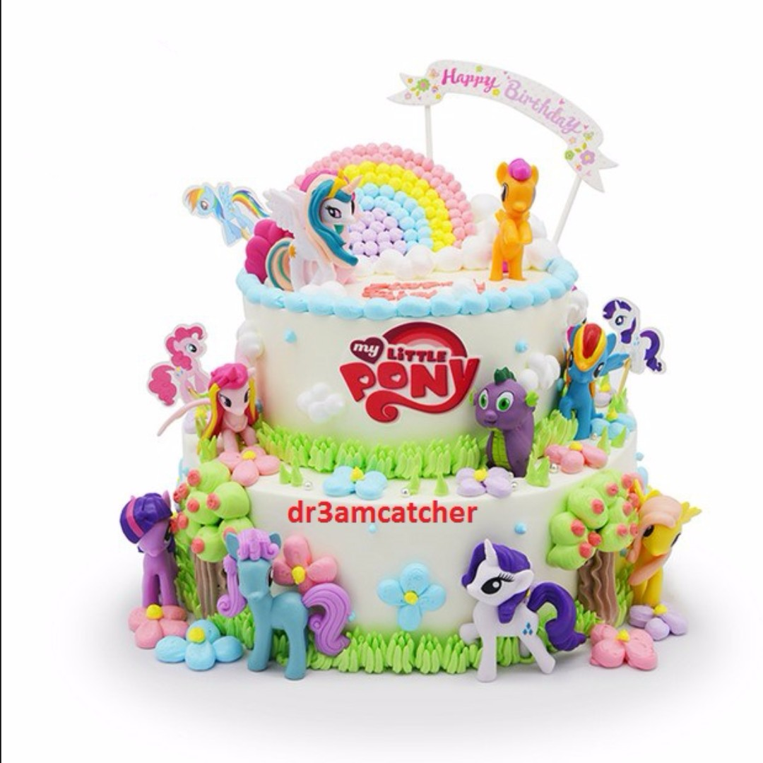 Back In Stock My Little Pony Cake Toppers