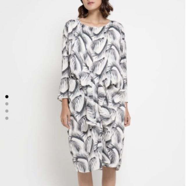 New: Shop At Velvet Front Tie Dress