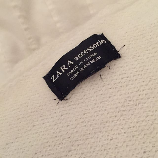 NEW Zara blanket scarf