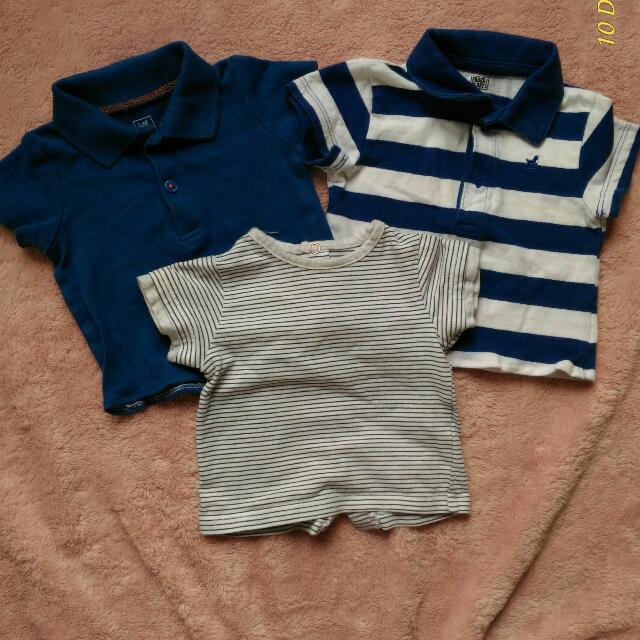 Newborn  Branded Polo Shirts