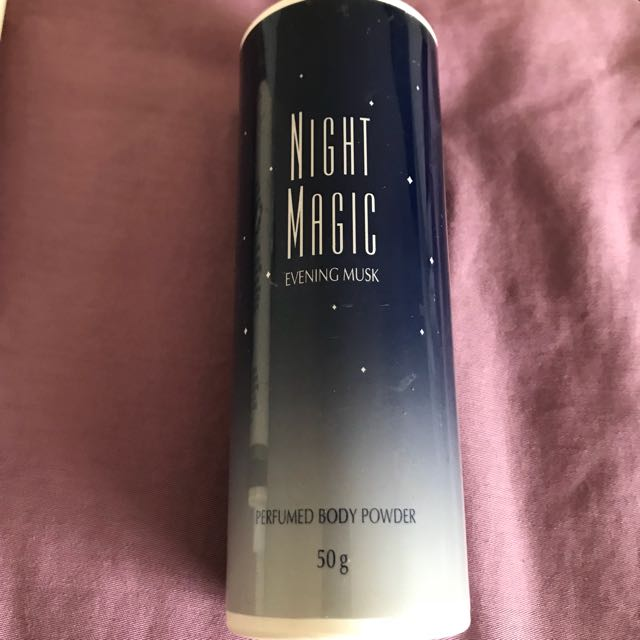 Night Magic body powder