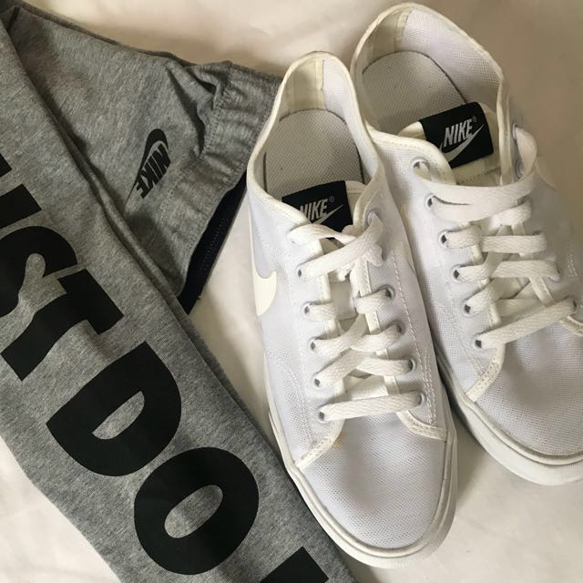 Nike 白色休閒鞋  小白鞋