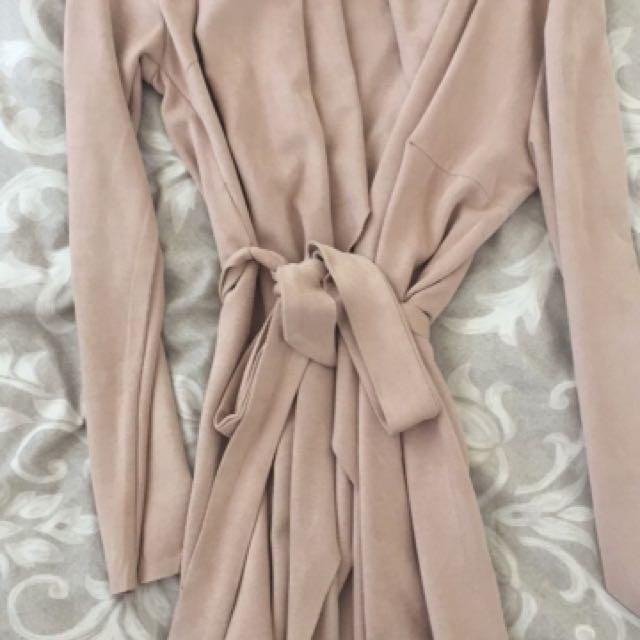 Nudey pink jacket