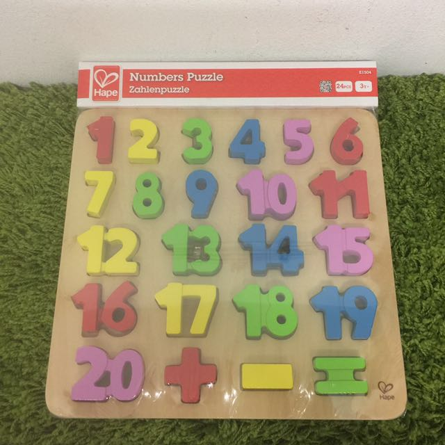 Numbers Puzzle by Hape Toys