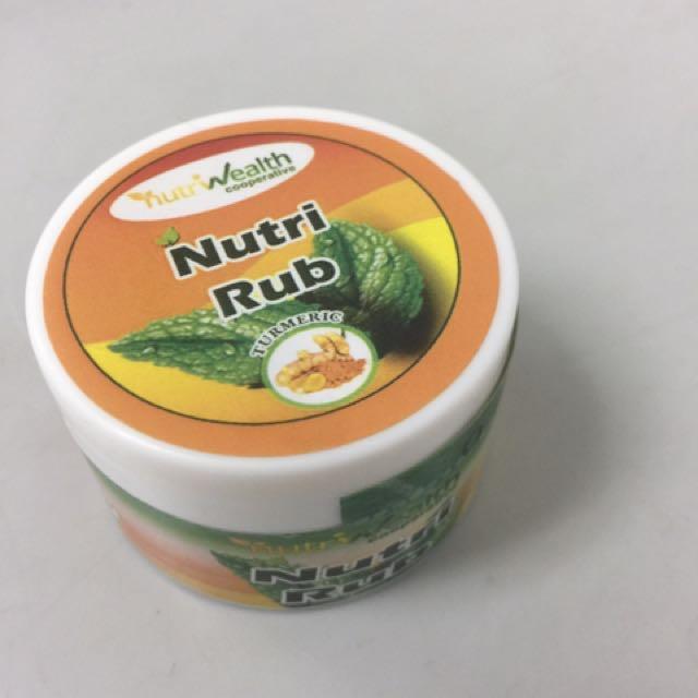 Nutri wealth rub wellness
