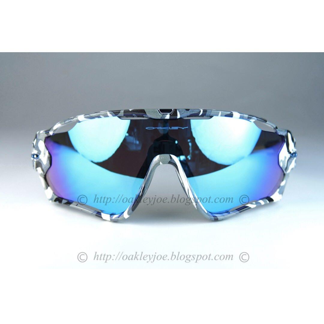51931c7ec3 Oakley Jawbreaker Sunglasses Polished White Prizm Snow Sapphire ...