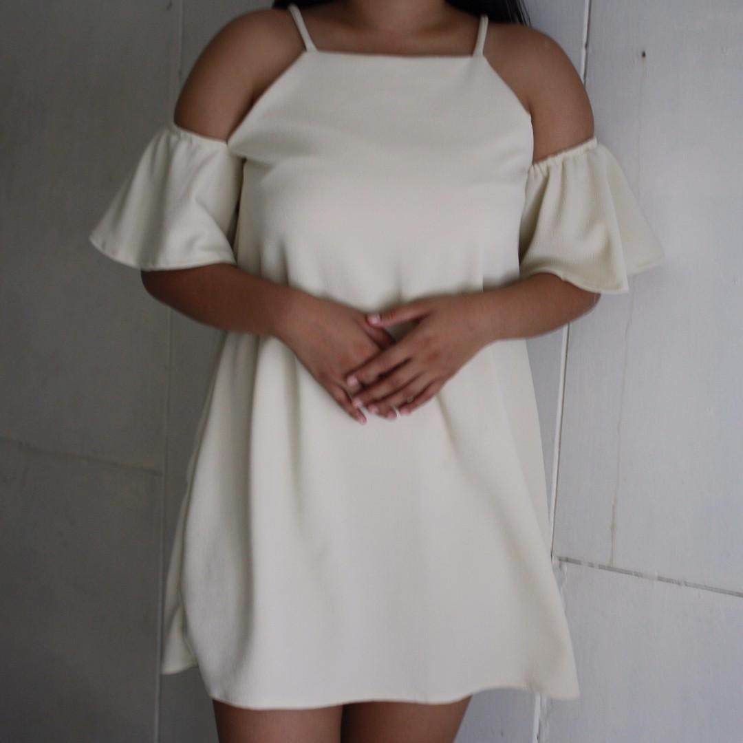 Off White Dress