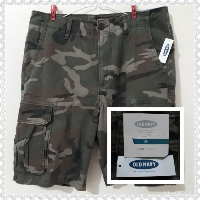 OLD NAVY CAMOUFLAGE SHORTS BRAND NEW