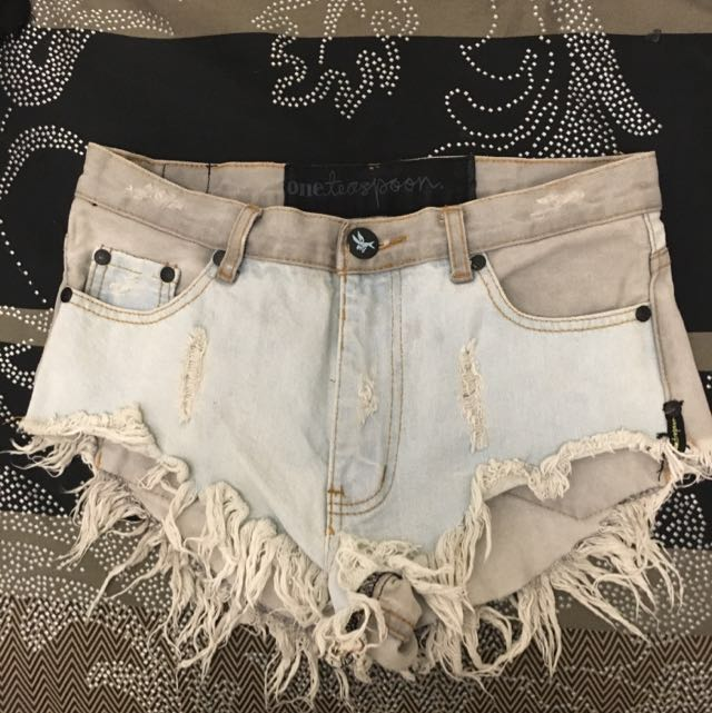 One Teaspoon Roller Shorts
