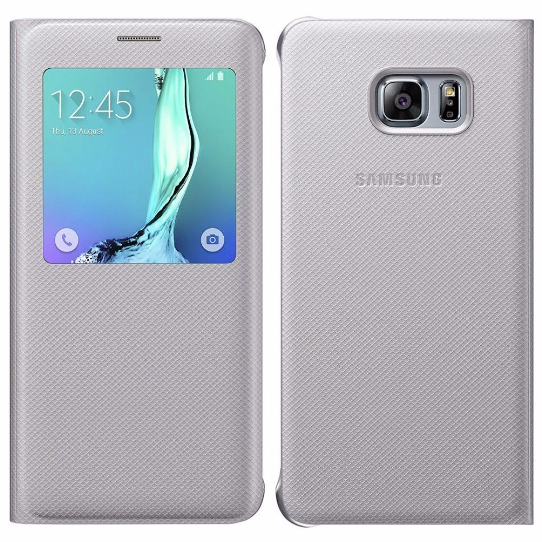 promo code bb0ba fbe60 Original Samsung Galaxy S6 Edge Plus S-View Cover