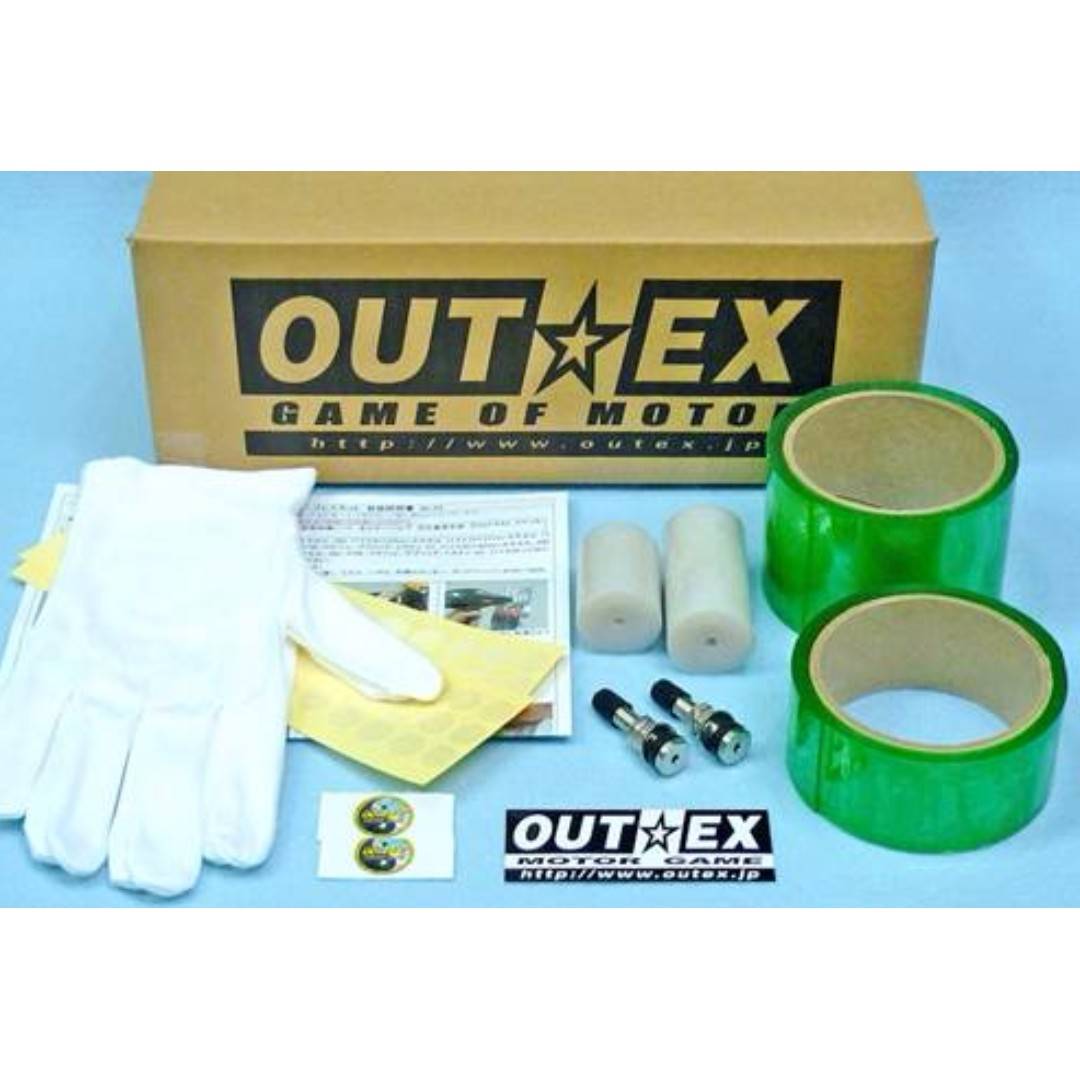 outex tubeless conversion kit motorbikes motorbike accessories on carousell. Black Bedroom Furniture Sets. Home Design Ideas