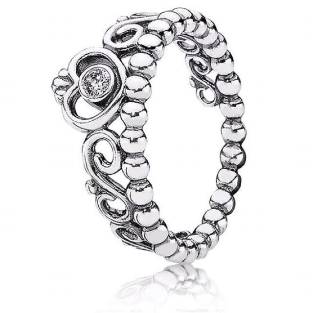 Pandora My Princess Ring Silver