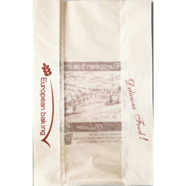 pc免運(15入)吐司袋 麵包袋 送禮紙袋 白/12兩吐司/非淘寶貨 西點包裝 烘焙 包裝 烘焙材料 包材