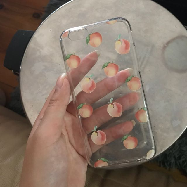 Peach Iphone 6&6s case