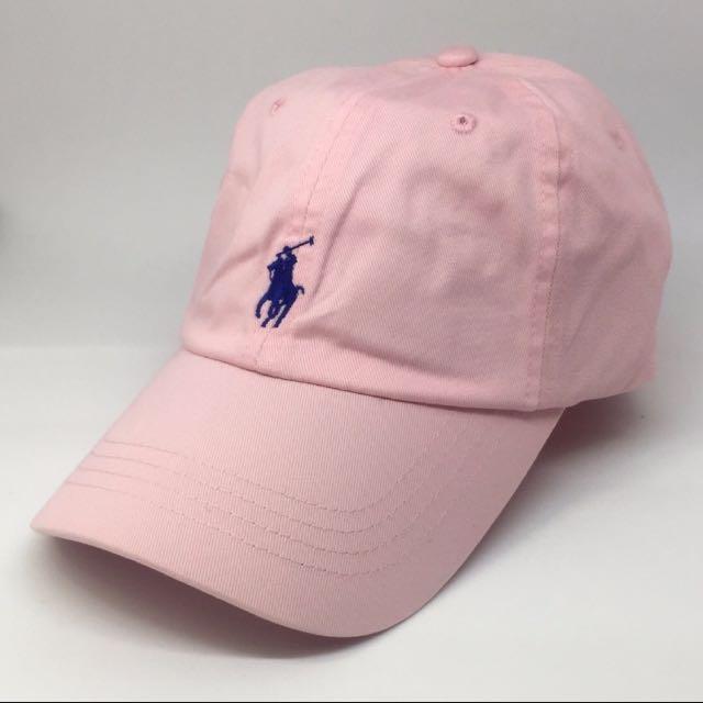 18026ff2 Pink Ralph Lauren Baseball cap, Women's Fashion, Accessories on ...