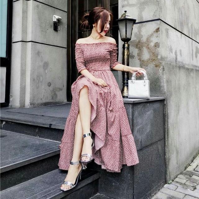 Pinky Maxi Dress