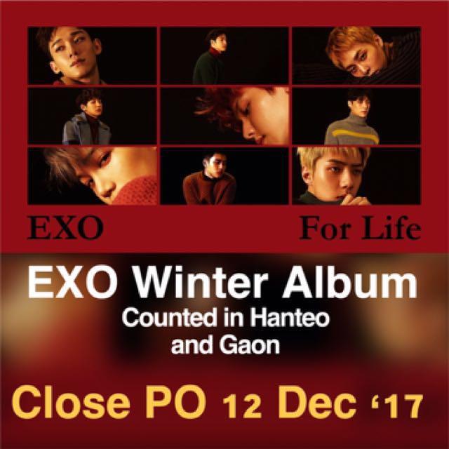PO EXO Winter Album 2017