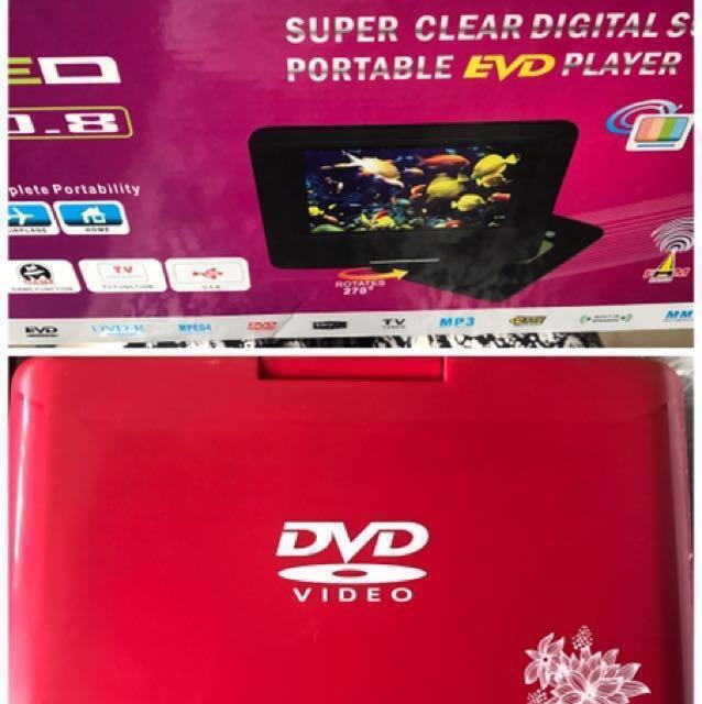 Portable Enhanced Versatile Disc (EVD) Player