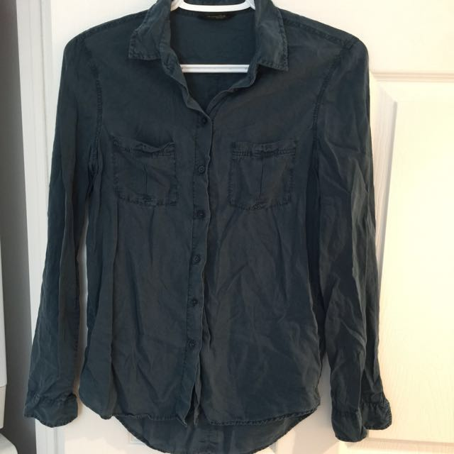 Priced2sell!! Dark olive green shirt
