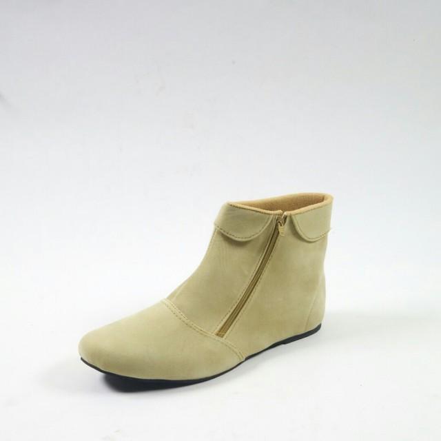 Promo sepatu boots wanita suede