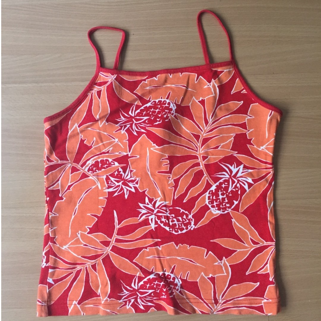 Red Camisole Top by Esprit (Authentic)